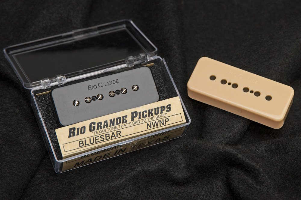 Rio Grande Bluesbar P90 Pickup Black or Cream