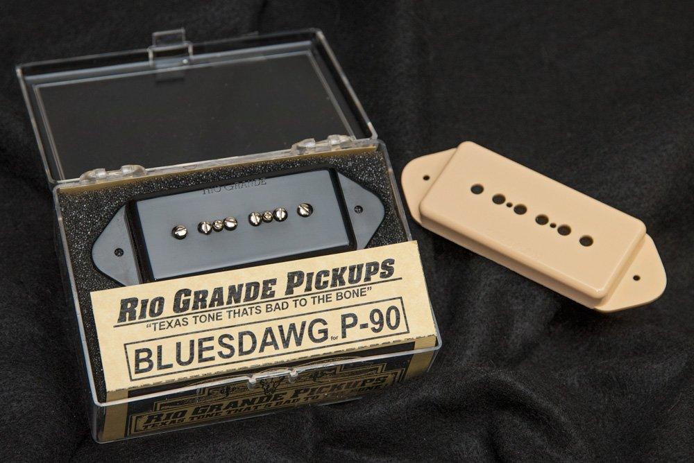 Rio Grande Bluesdawg P-90 Dog Ear Pickup Black or Creme