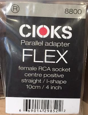 Cioks CIO-8800 Parallel adapter Flex cable 4 in