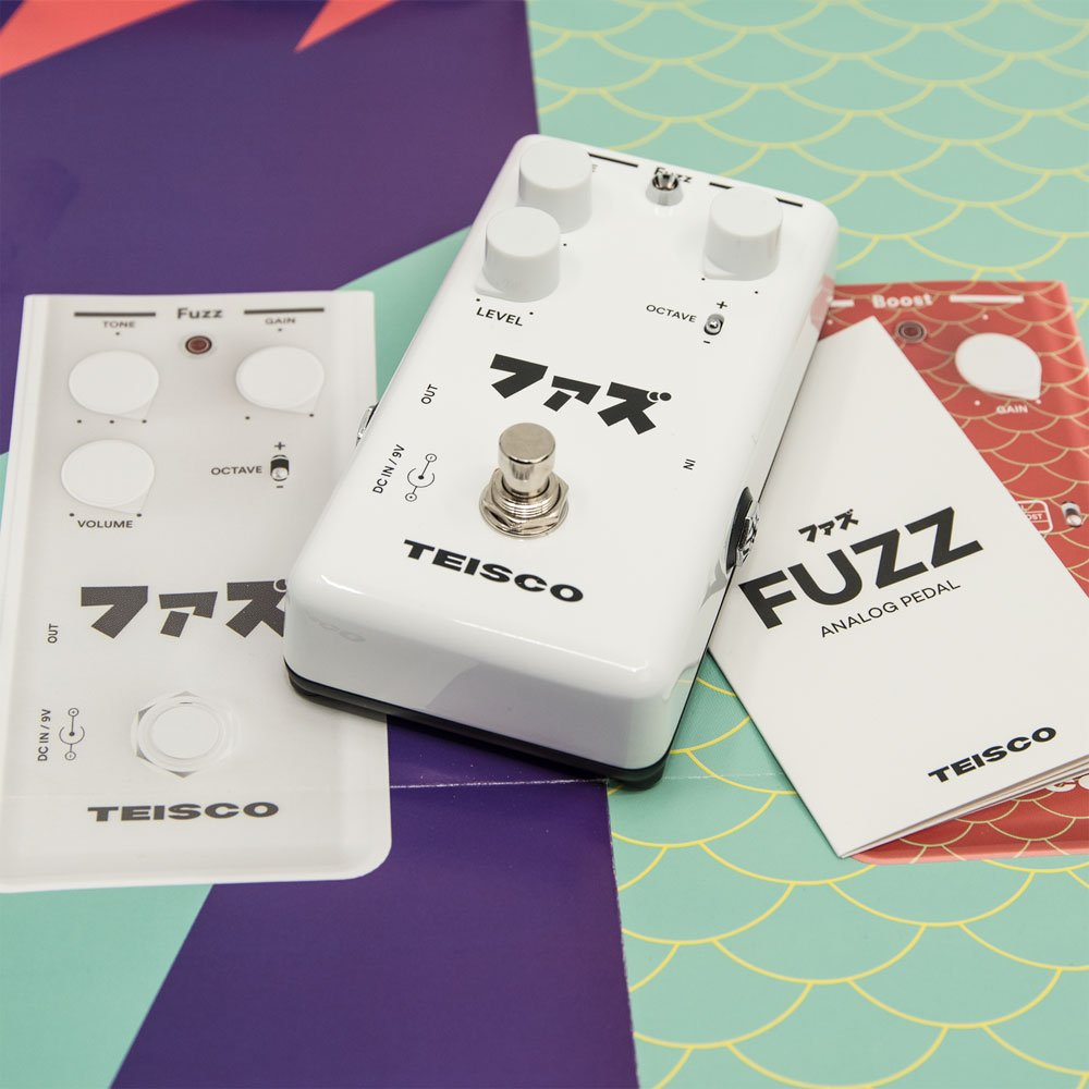 Teisco Silicon Fuzz with Octave switch