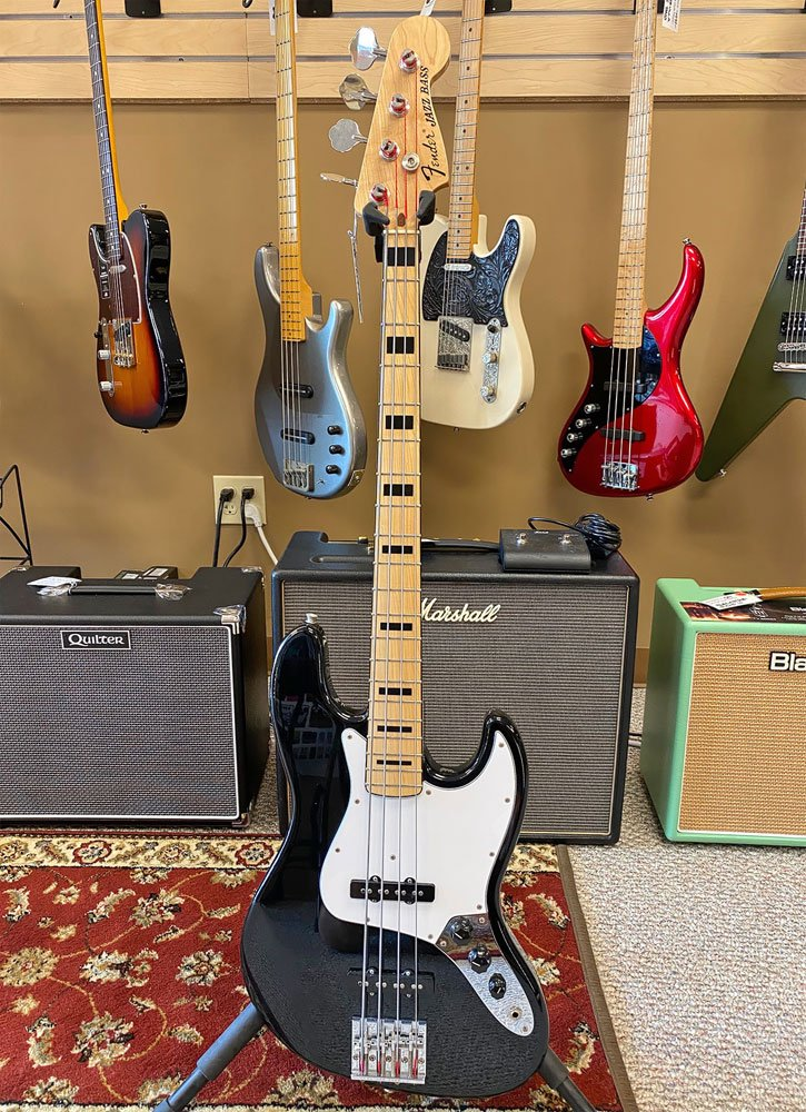 USED Fender Geddy Lee Signature Jazz Bass MIJ