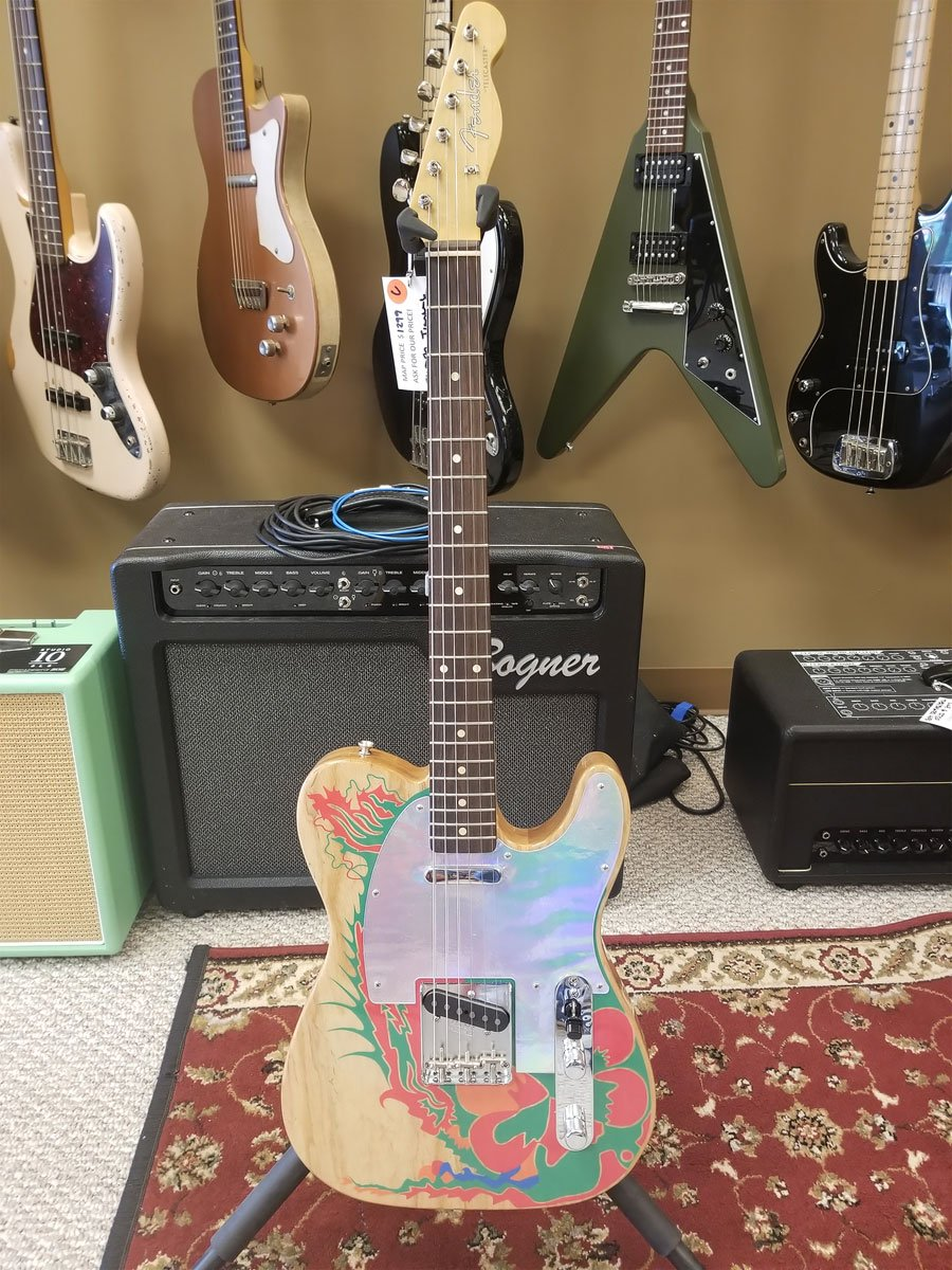 USED Fender Telecaster Jimmy Page Signature