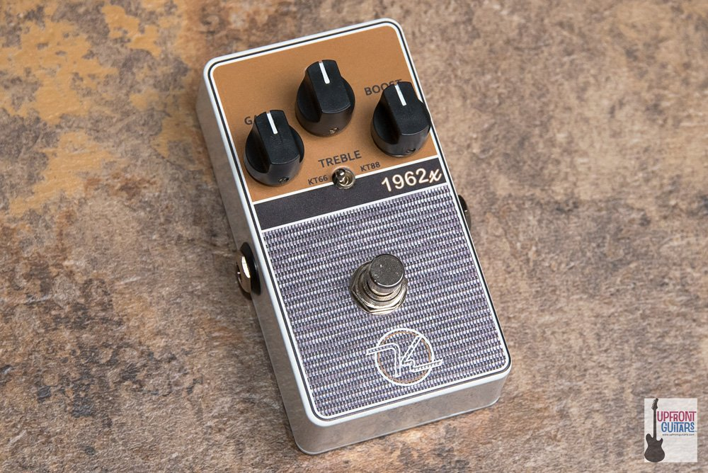 Keeley 1962x Dual mode Brit Overdrive