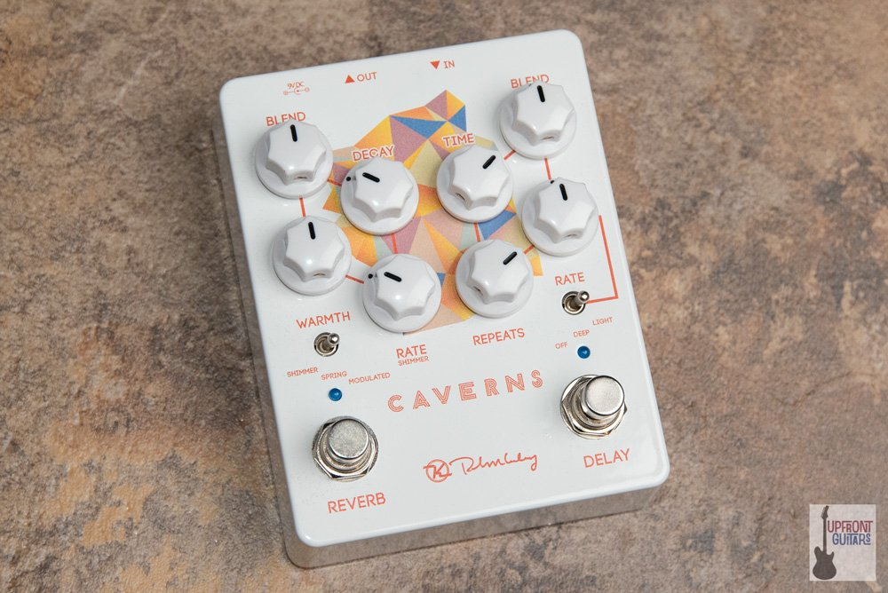 Keeley Caverns Delay and Reverb Pedal