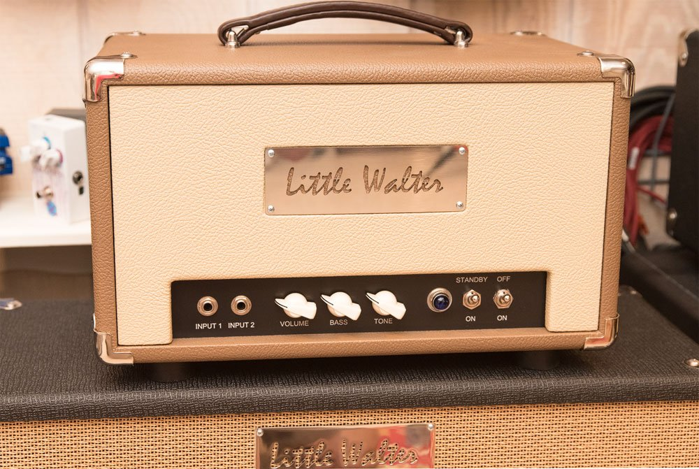 Little Walter 50 Watt Octal Head Fender Brown