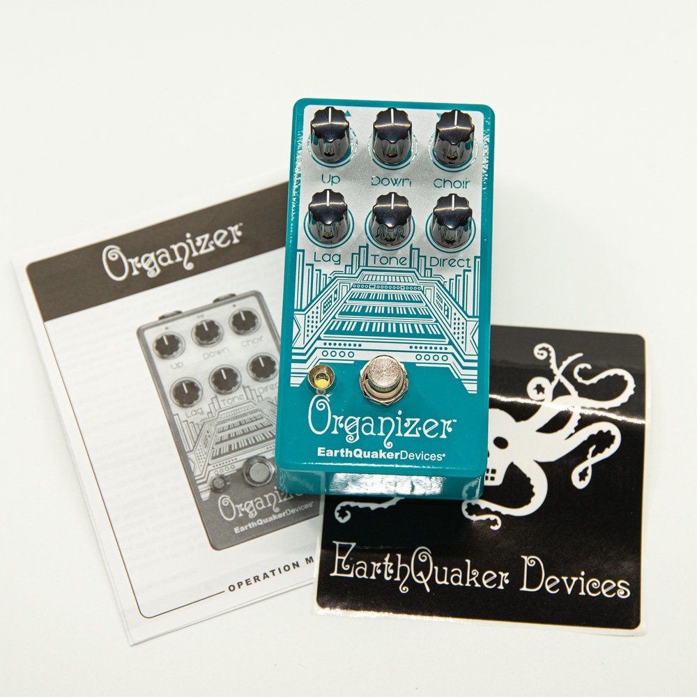 EarthQuaker Devices Organizer V2 Polyphonic Organ Emulator Guitar Effect