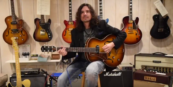 Scott Taruli and the Godin Kingpin P90 on YouTube