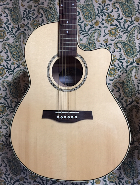 Used Seagull Performer CW Folk HG QIT with bag