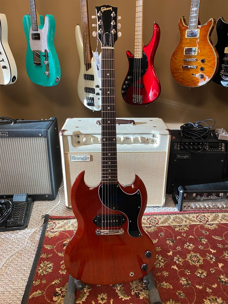 USED Gibson SG Jr. 2020 Heritage Cherry