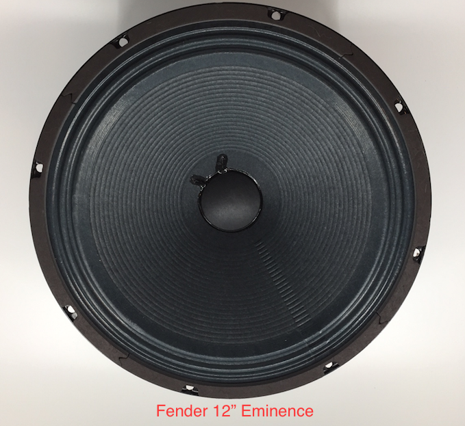 Used Speakers, Sold Individually, 12 and 10 - Fender Eminence and Celestion