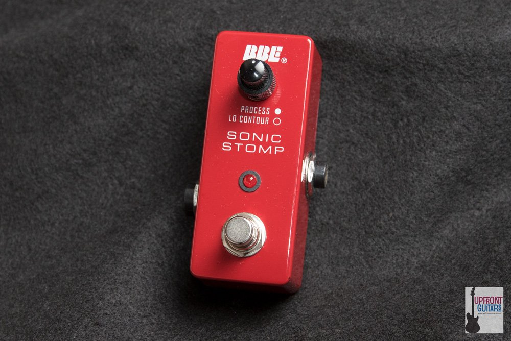 BBE Sonic Stomp Maximizer Mini MS-92 Red - Secret weapon for amplified acoustics