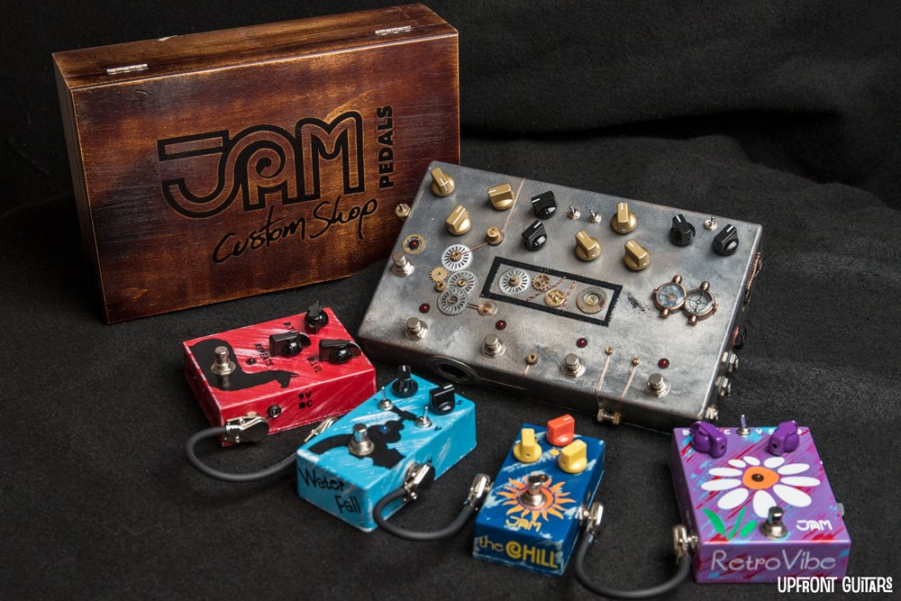 JAM Pedals Custom multipedals - YOUR choice of pedals and design!
