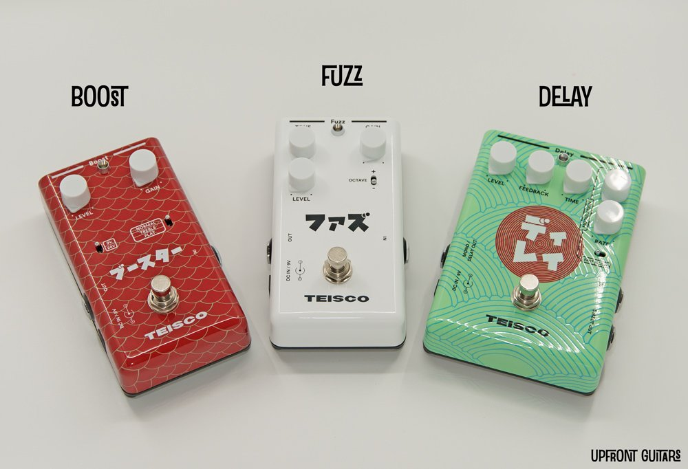 Teisco Pedals