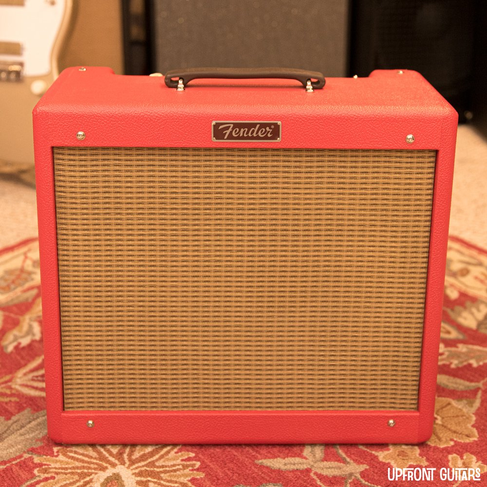 Mint Fender FSR Texas Red Blues Junior  Amp - Cannabis Rex Speaker