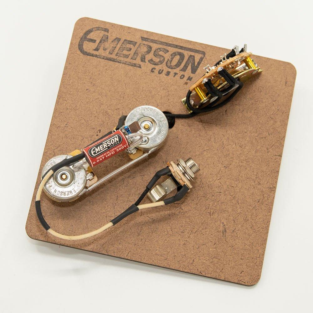Emerson Custom Tele 3-way Thinline wiring assembly