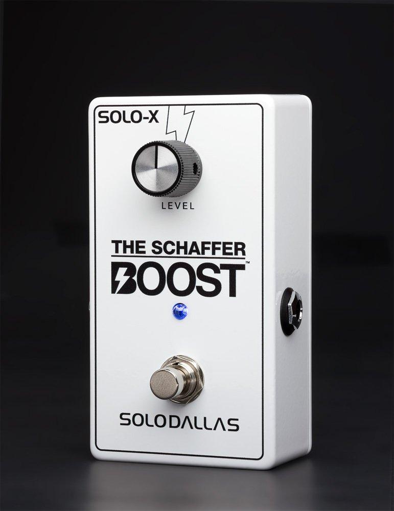 2020 Solodallas The Schaffer Boost Solo-X LTD Edition Gloss White