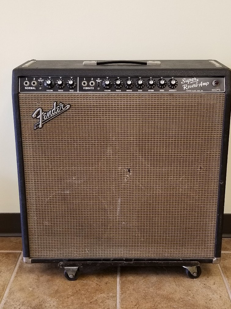 1965 Fender Super Reverb Amp