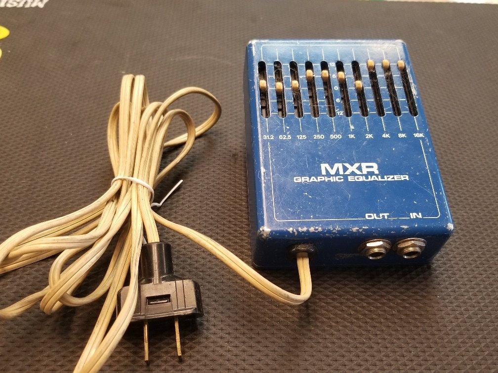 MXR M-108 10 Band Equalizer