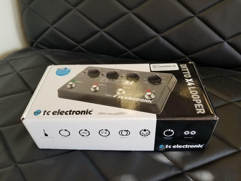 TC Electronics Ditto Looper X4