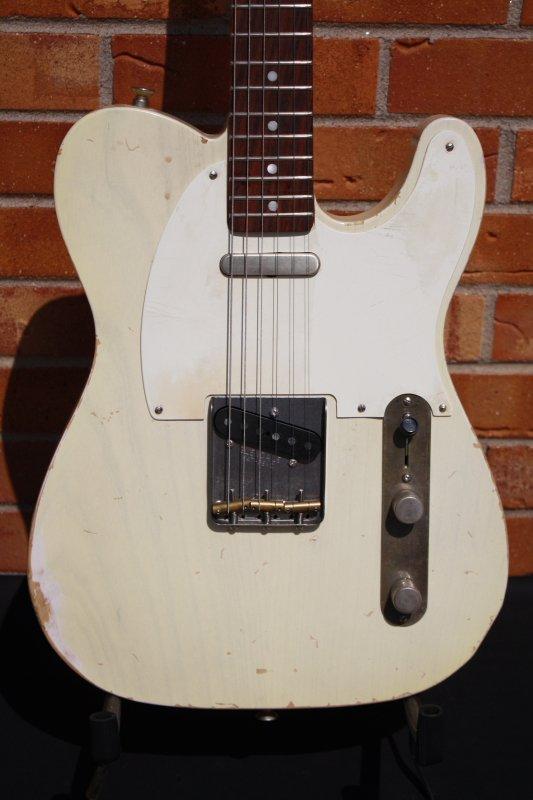 2019 McGibney Guitars 1959 Relic Tele-Blonde