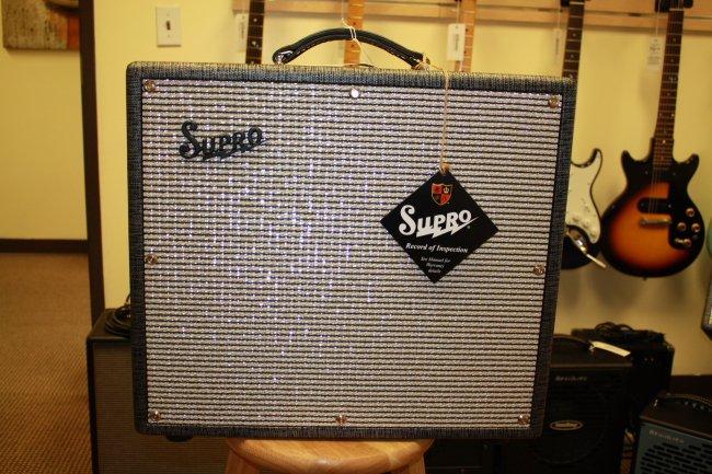 Supro Black Magic Reverb Amp