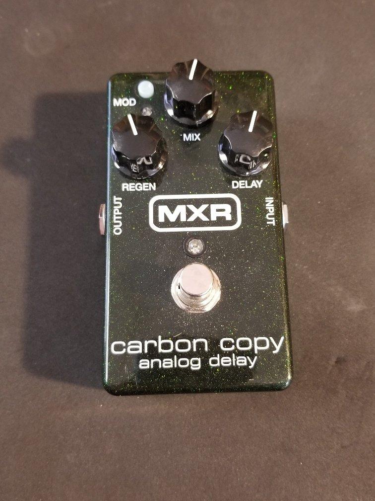MXR Carbon Copy Pedal