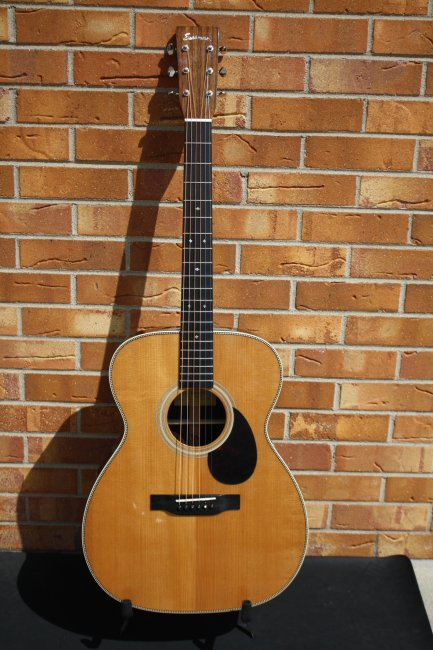 Eastman E20OM-TC, OM style acoustic, thermo cured top
