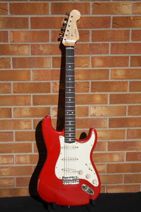 2020 McGibney 60's Style Strat-Dakota Red Relic