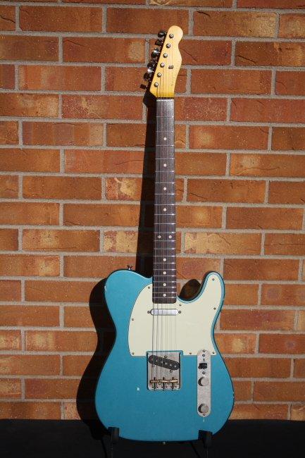 Nash Guitars T63 Ocean Turqoise Metallic