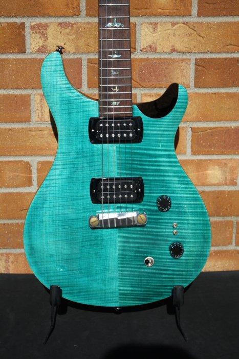 PRS SE Paul's Guitar-Aqua
