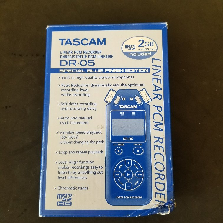 Tascam DR-05 Portable Handheld Digital Recorder