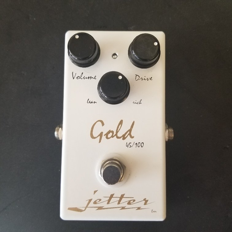 Jetter Gold 45/100 Overdrive Pedal