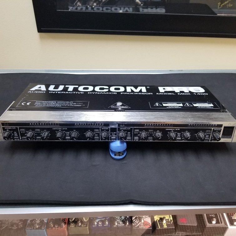 Behringer Autocom Pro MDX1400 Compression/Limiter