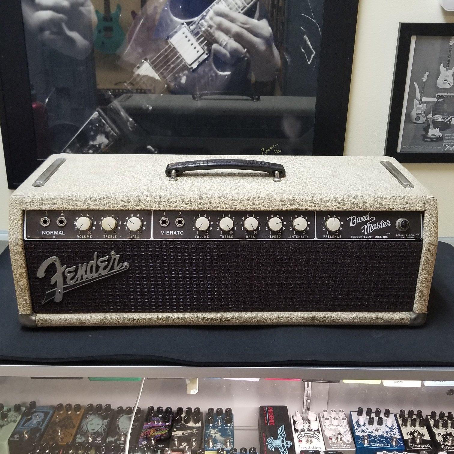 1961 Fender Bandmaster Head 6G7-A
