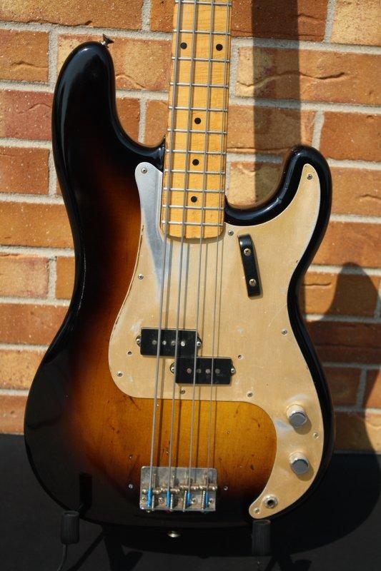 1958 Fender P-Bass-Refin Top