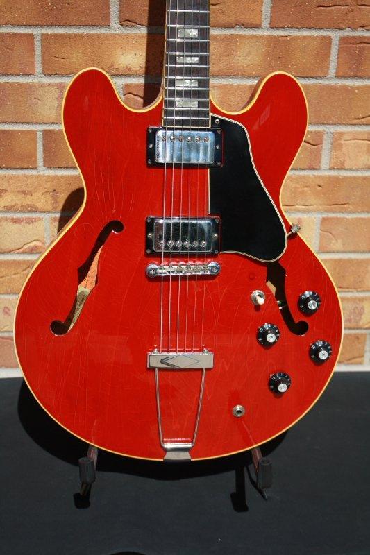 1968 Gibson ES-335TDC-Cherry