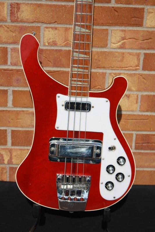 1974 Rickenbacker 4001 Bass-Cherry