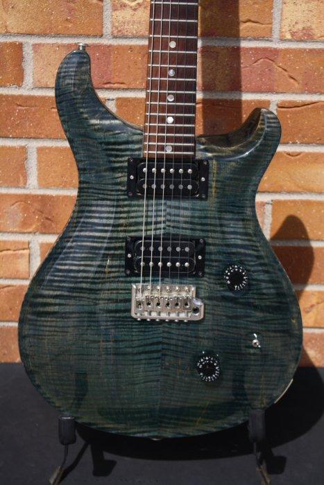1986 PRS Custom 24 Emerald Green