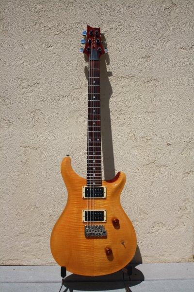 1989 PRS Custom 24-Vintage Yellow