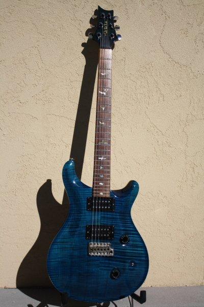 1990 PRS Custom 24 Royal Blue