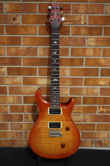 1990 PRS Custom 24 Vintage Sunburst-10 top
