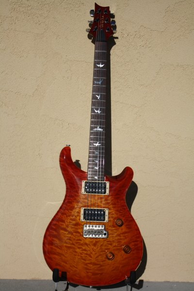 1992 PRS Customer 24 Cherry Sunburst