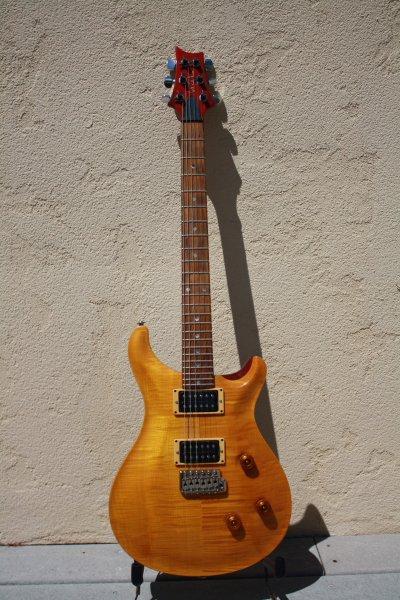 1992 PRS Custom 24 Vintage Yellow