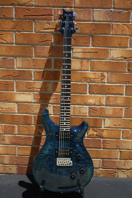 1994 PRS Custom-24 Royal Blue Quilt