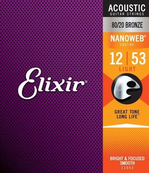 Elixir Acoustic 80/20 NW Light