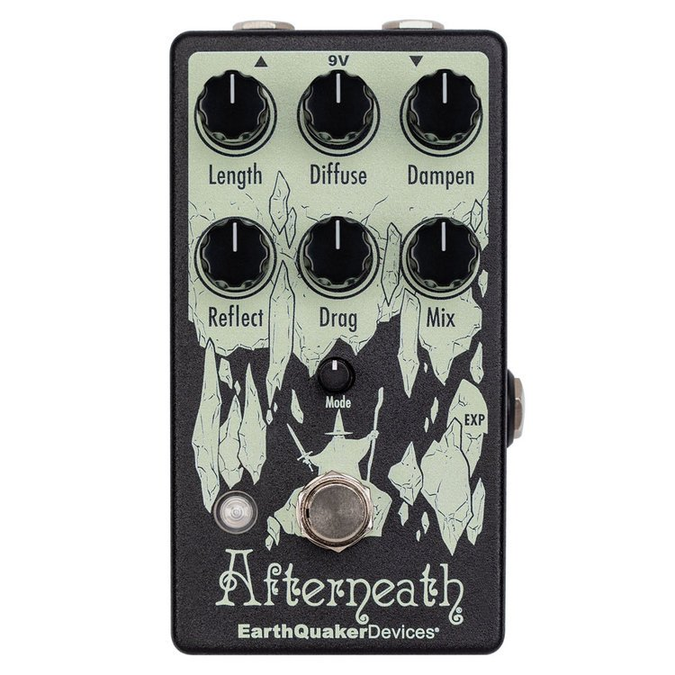 EarthQuaker Devices Afterneath V3-Enhanced Otherworldly Reverberator