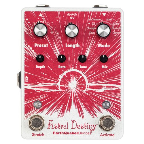 EarthQuaker Devices Astrial Destiny Modulated Octave Reverb Pedal