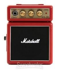 Marshall Micro Amp Classic MS-2R Red