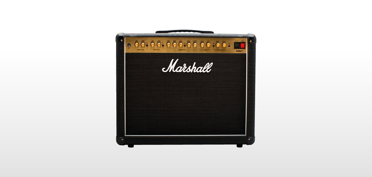 Marshall DSL40CR, 40W combo w reverb and FX loop