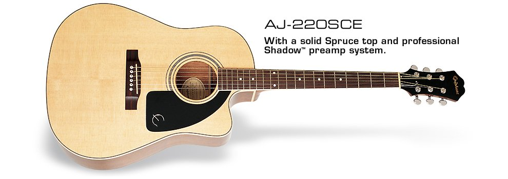 Epiphone AJ-220SCE Acoustic/Electric